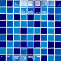 Pastilha Glass Mosaic Vidro Cristal Mix 03 Image