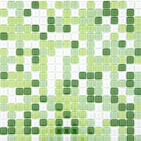 Pastilha Glass Mosaic Vidro Cristal Mix 12 Image