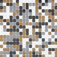 Pastilha Glass Mosaic Vidro Cristal Mix 14 Image