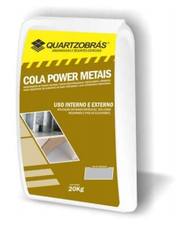 Argamassa Quartzobrás Cola Power Metais Interno e Externo Image