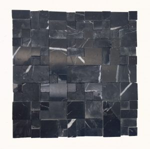 Pastilha Mosaico Coralia Nero Marquina Image